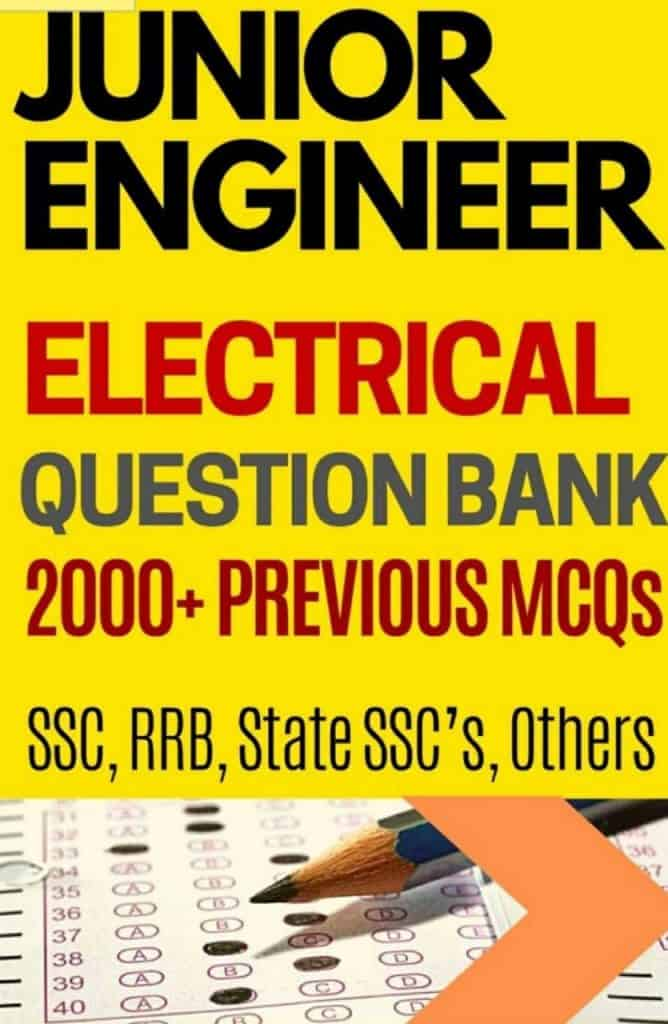 Junior Engineer Electrical 2000+ Question Bank