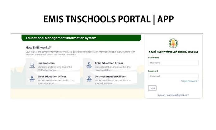 EMIS TN school portal