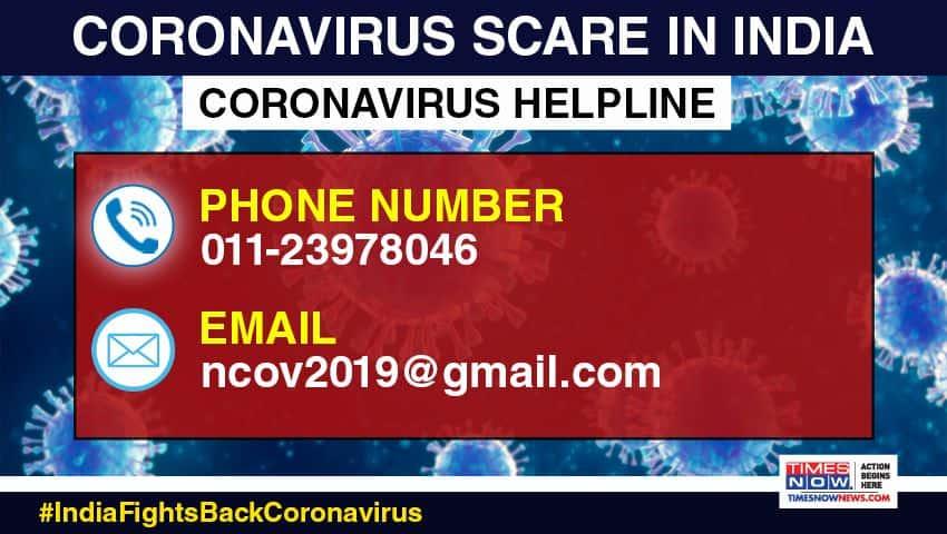 Corona Virus Helpline in India