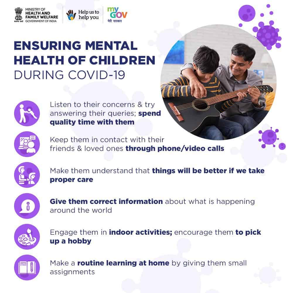 Ensuring Mental Health of Children During COVID-19