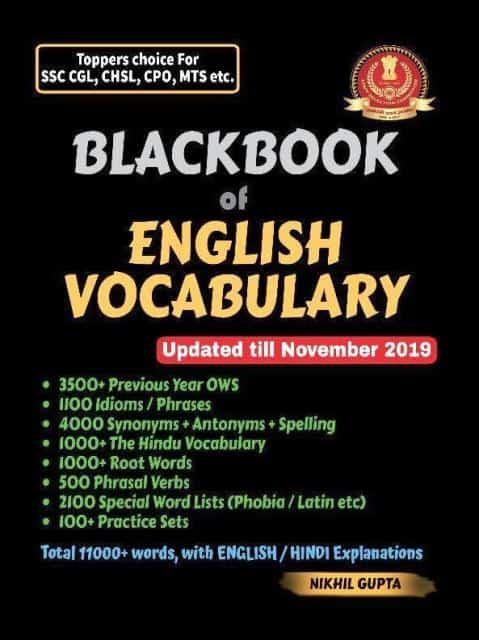 Blackbook of English Vocabulary pdf download