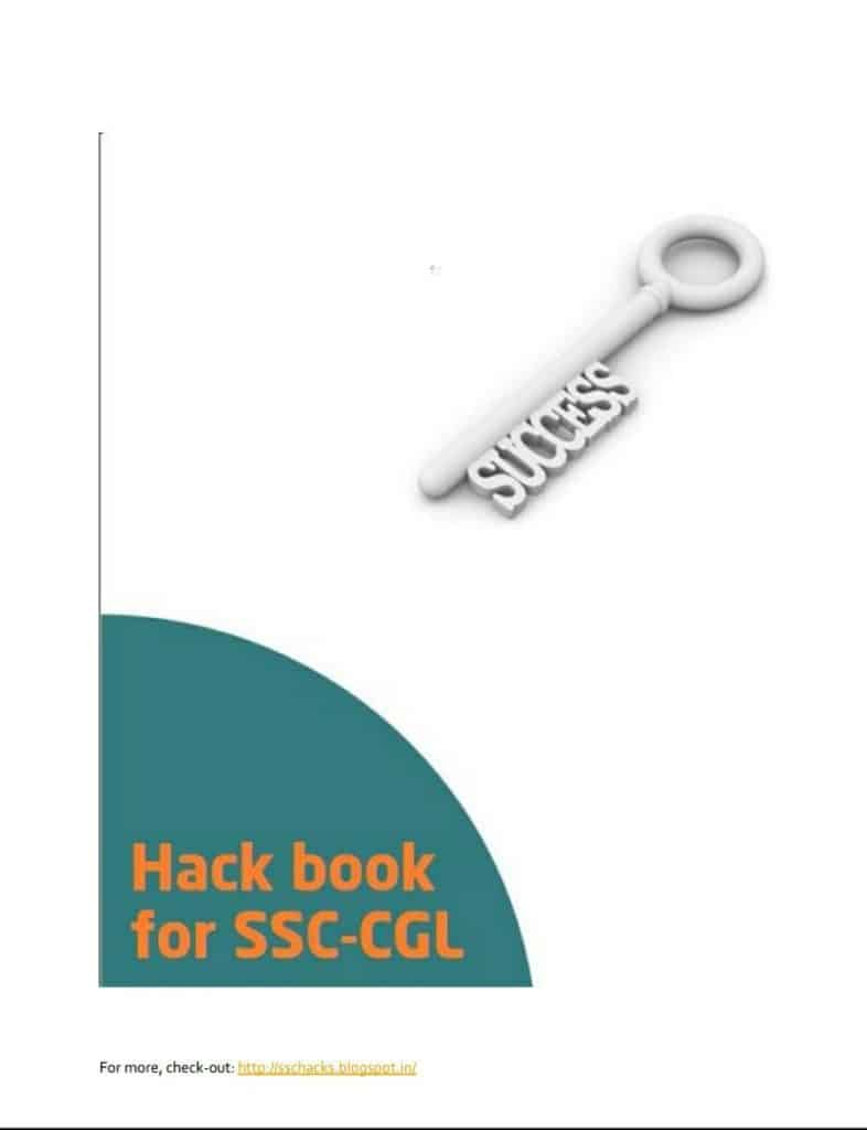 SSC CGL General Awareness Hackbook pdf download
